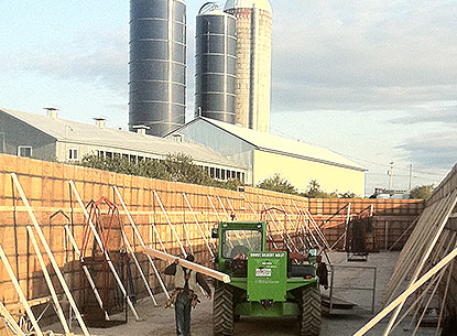 Construction agricole r sidentiel menuiserie for Construction agricole